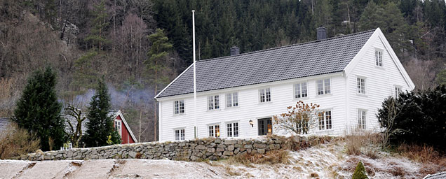 Bilde fra Prestegården